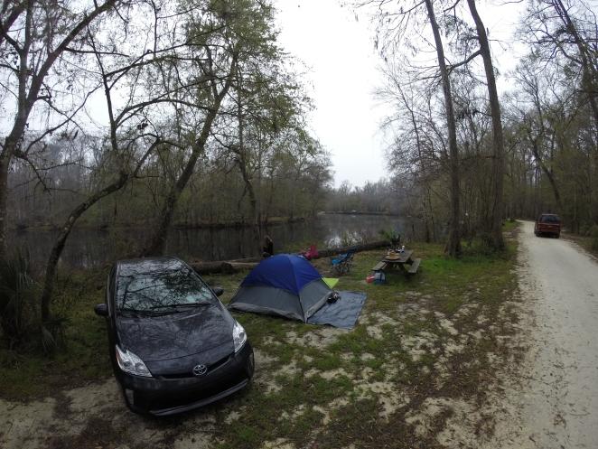 Ginnie Springs Camp Site